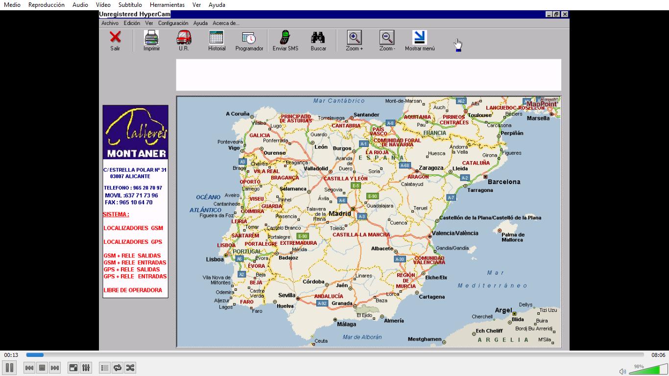 Geolocalización de vehículos